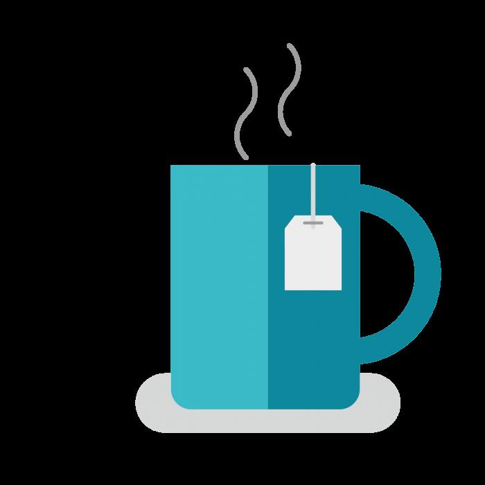 Illustration of mug of tea