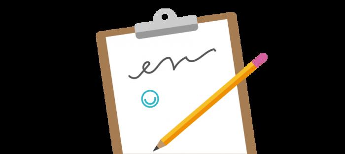 Illustration of signature next to MindMate logo