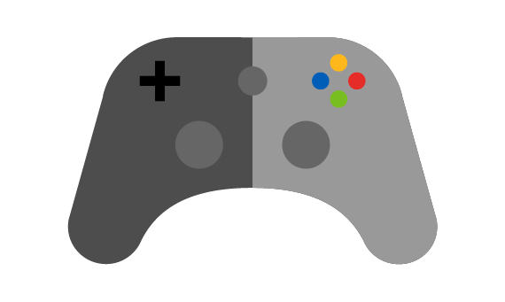 Illustration of xbox controller