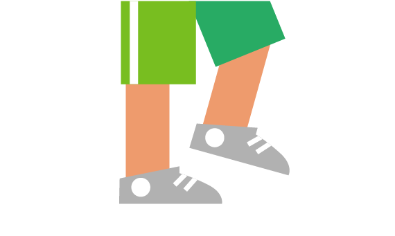 Illustration of young person in football gear