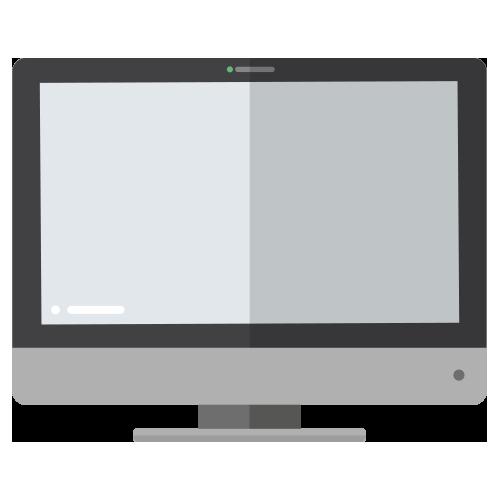 Illustration of tv screen