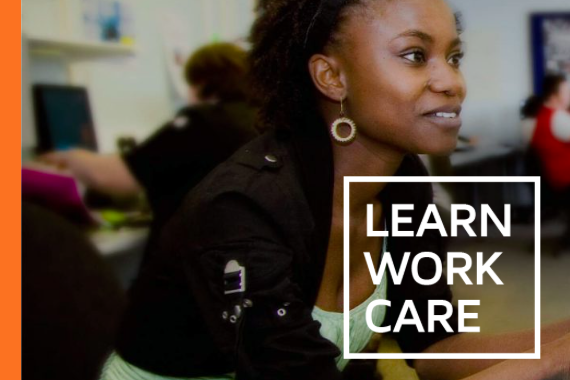 Learn Work Care logo