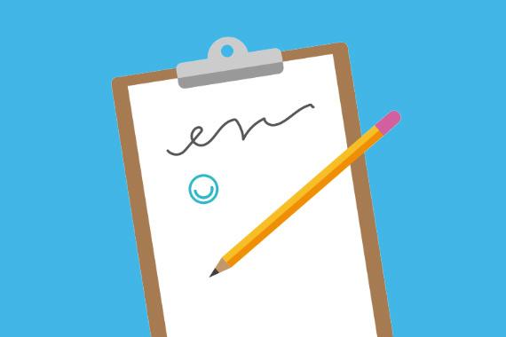Illustration of signature next to the MindMate logo