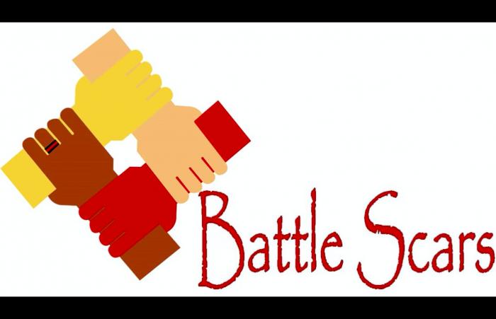 battle scars logo