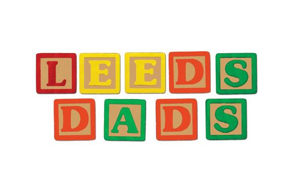 Illustration of letter cubes saying LEEDS DADS