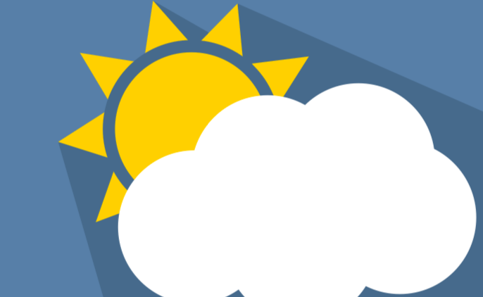 sun and cloud icons