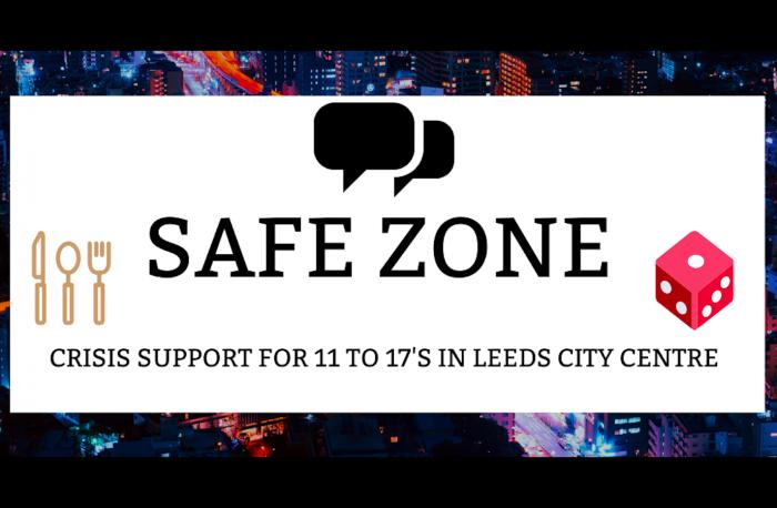 Safe Zone crisis support logo